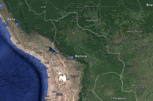 Clérigos de San Viator en Bolivia
