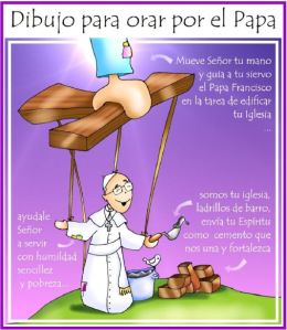 orar por el papa
