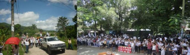 Marcha por la Paz - Jutiapa