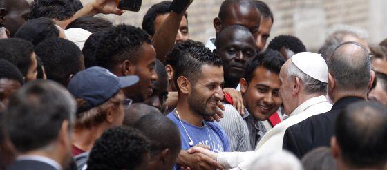 Papa Francisco y los refugiados