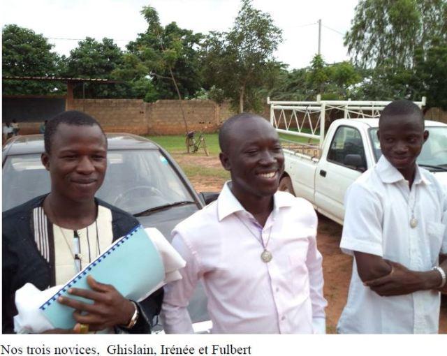 Les Clercs de Saint Viateur de Burkina Faso