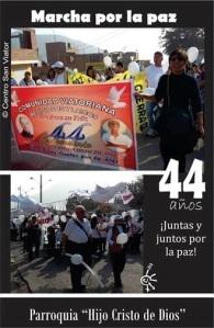 Marcha por la Paz_San_Viator_Collique
