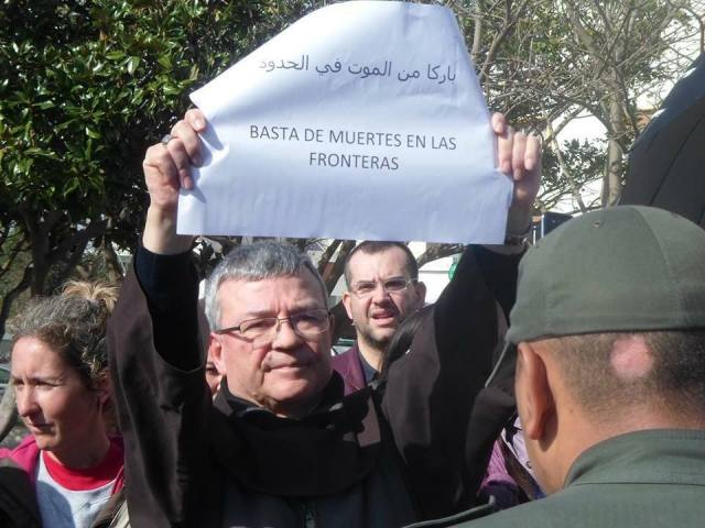 Santiago Agrelo_Basta de muertes en la frontera