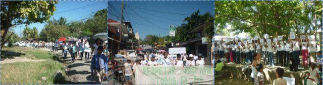 San Viator Honduras - SERSO Honduras - Marcha por la Paz