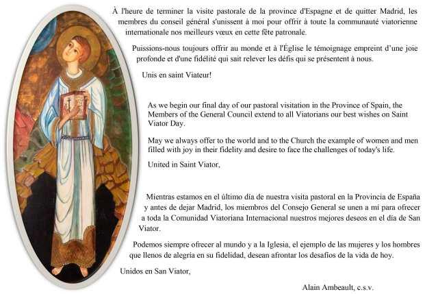 Festividad de San Viator