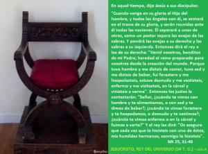 d34to-a JESUCRISTO, REY DEL UNIVERSO
