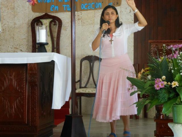 Mujeres transmisoras de la fe