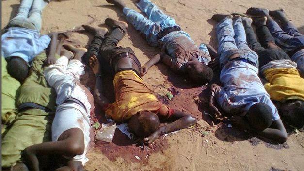 Cristianos asesinados en nigeria