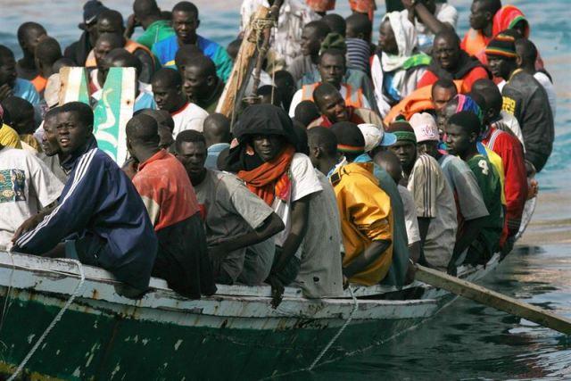 emigrantes en el mediterraneo