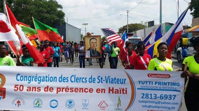 Celebración de los 50 años de presencia de los Clérigos de San Viator en Haití