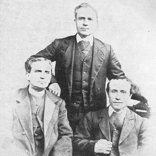 Primeros Clérigos de San Viator en Bourbonnais  (Kankakee - Illinois - USA)