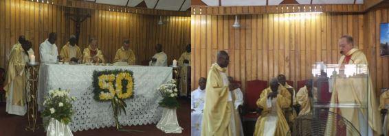 Bodas de oro como religioso de Carlos Orduna csv
