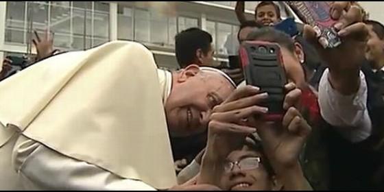 papa francisco en quito