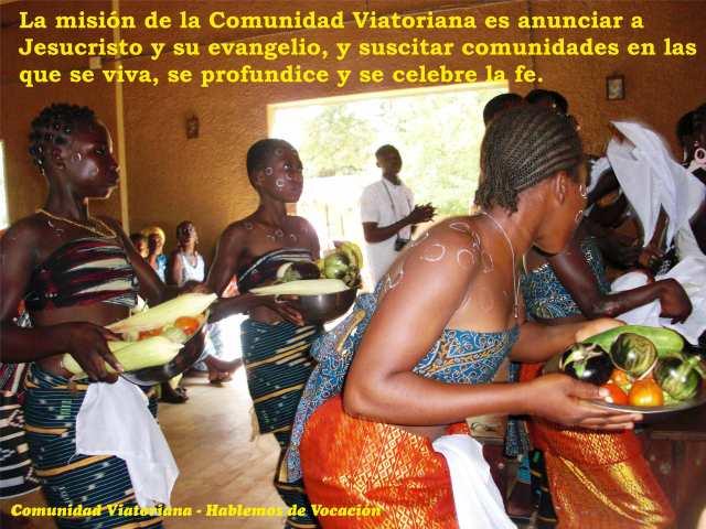 Vocaciones a la Comunidad Viatoriana, vocaciones religiosas y de asociadas y asociados, todas y todos viatores.