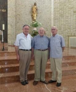 Josemari, Txomin y Bittor
