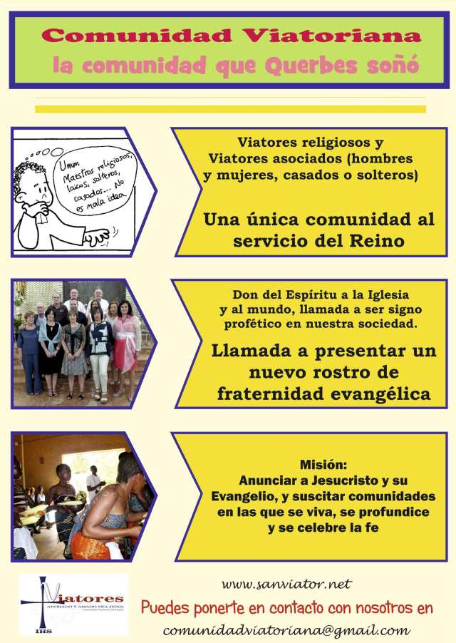 Vocaciones religiosas, vocación religiosa, vocación a la comunidad viatoriana