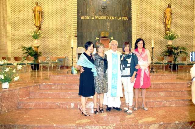 Marijose, Monse, Goio, Elena y Ana Rosa