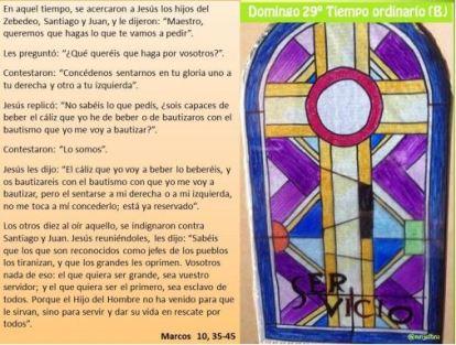 vigesimonoveno domingo del tiempo ordinario