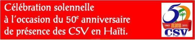 Celebración del 50º aniversario de la presencia de los Clérigos de San Viator en Haití