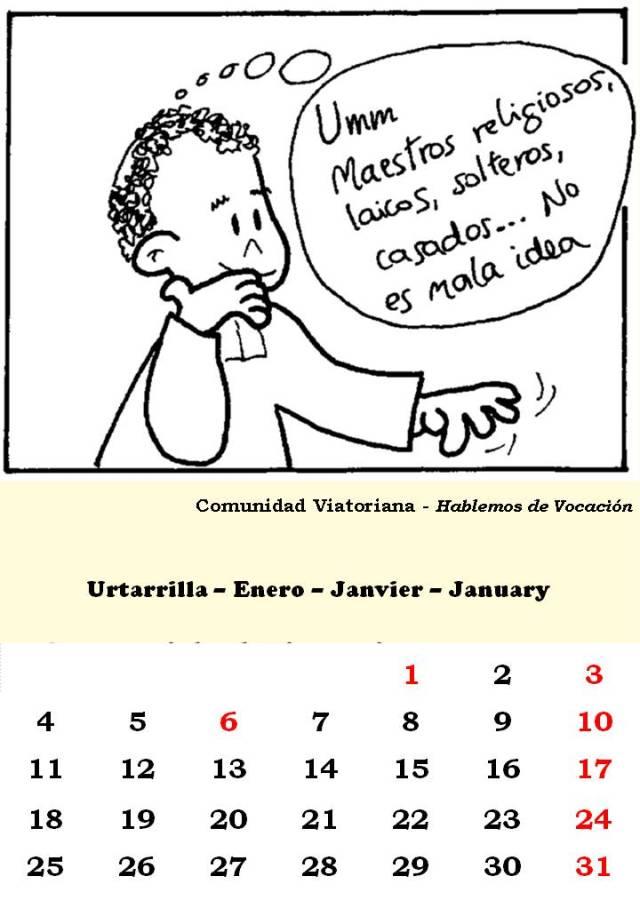 1 Urtarrila-Enero