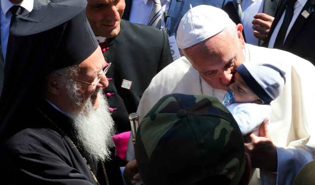 Pope Francis visits Lesvos