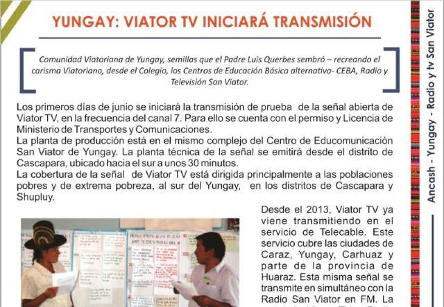 Viator TV Yungay