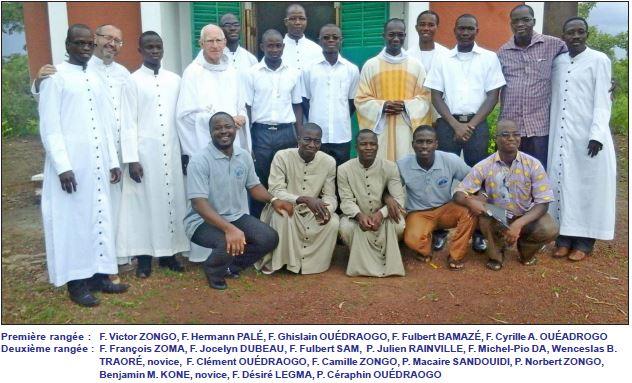 Clercs de Saint Viateur de Burkina Faso, Vocations, Vocaciones, Clérigos de San Viator