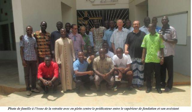 Vocaciones religiosas, vocación religiosa, Clérigos de San Viator de Burkina Faso