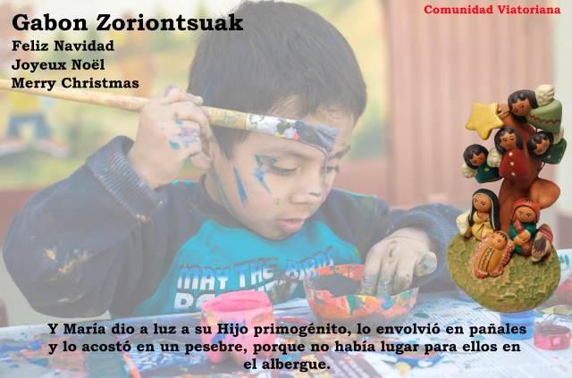 Felicitación de la Comunidad Viatoriana Navidad 2016