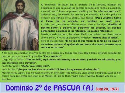 Segundo Domingo de Pascua