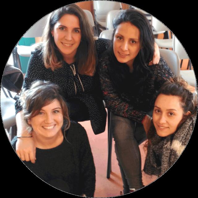 Andrea, Esti, Ane, María