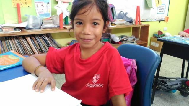 Alumna del Colegio San Viator de Jutiapa - Honduras