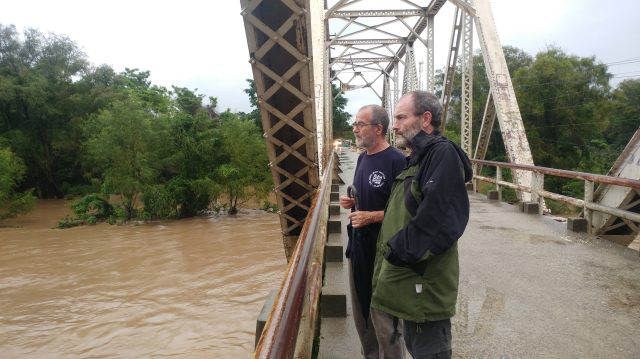 Tomas Aranberri e Ignacio Gallinas, viatores en Jutiapa
