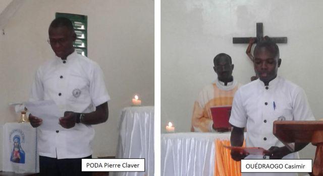 Vocaciones religiosas Saint Viateur Burkina Faso