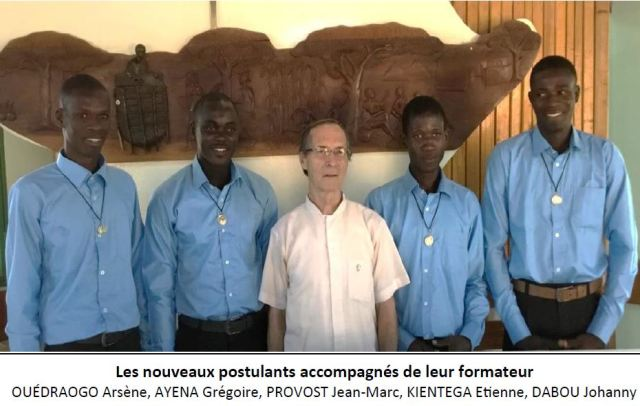 Vocations religieuses de Burkina Faso