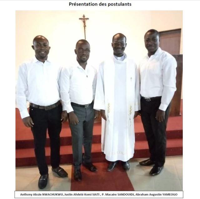 Posulantes viatores de Burkina Faso