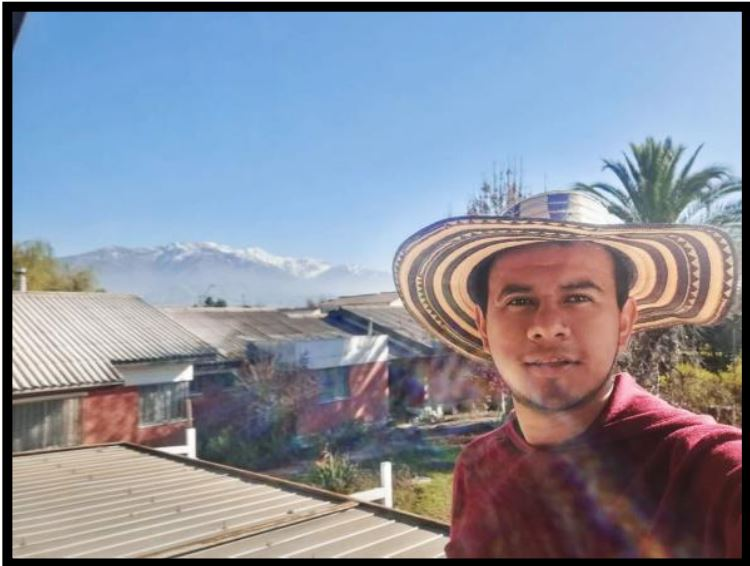 Diego Carvajal, novicio CSV de la Fundación de Colombia